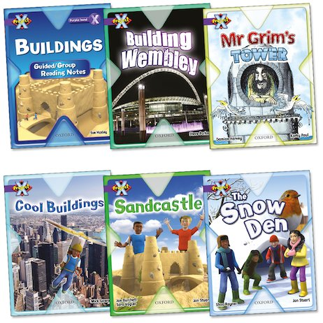 Project X: Buildings Pack (Book Band Purple)
