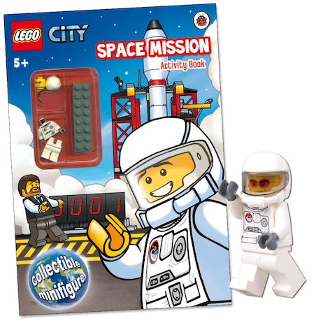 LEGO® CITY™: Space Mission Activity Book