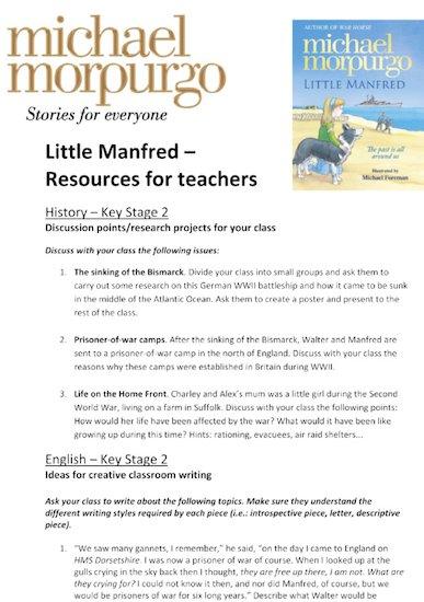 Little Manfred Teacher's Resource Pack