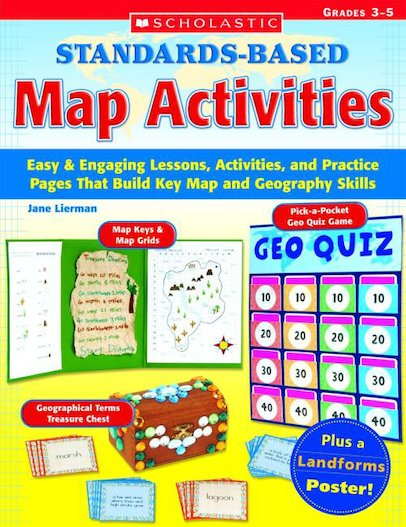 Standards Based Map Activities