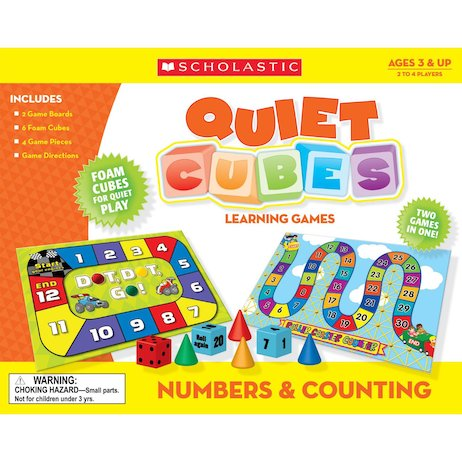 Quiet Cubes Learning Games: Numbers and Counting