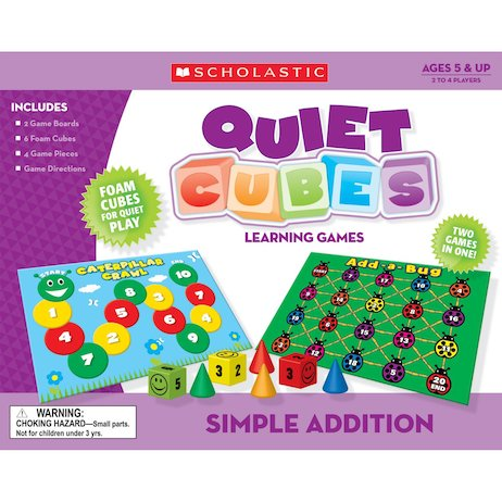 Quiet Cubes Learning Games: Simple Addition