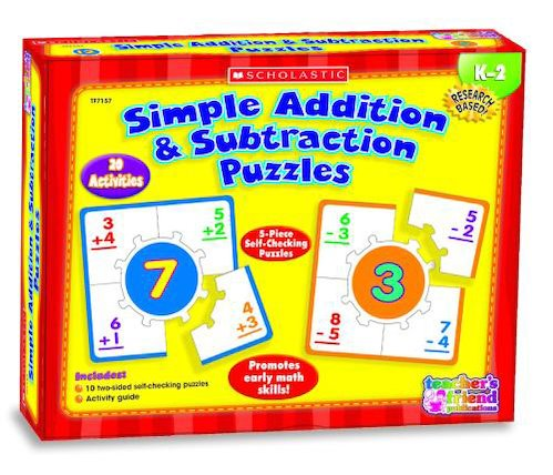 Simple Addition and Subtraction Puzzles