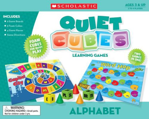 Quiet Cubes Learning Games: Alphabet