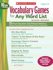 Vocabulary Games for Any Word List