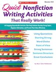 Quick Nonfiction Writing Activities That Really Work