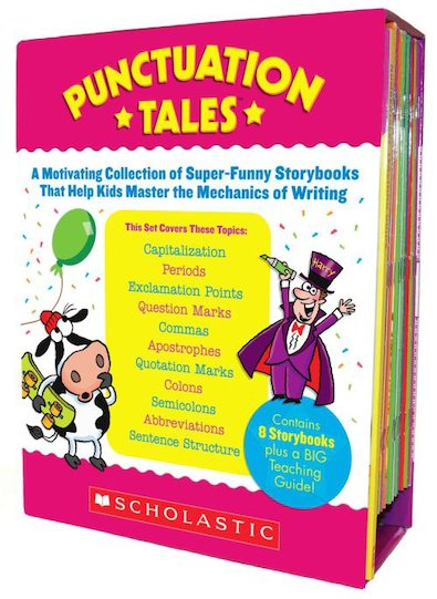 Punctuation Tales: A Motivating Collection of Super-Funny Storybooks