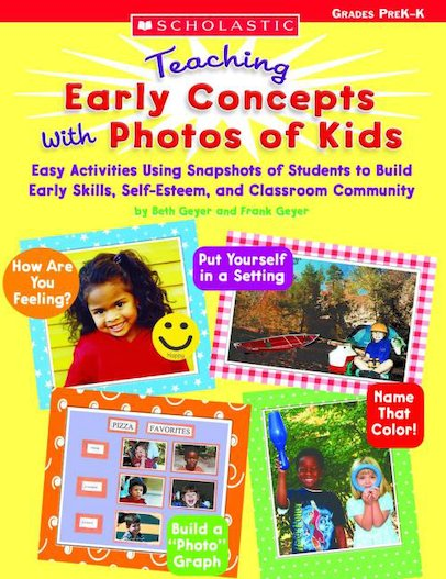 Teaching Early Concepts With Photos of Kids