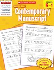 Scholastic Success with Contemporary Manuscript, Grades K-1