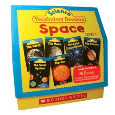 Science Vocabulary Readers Set: Space