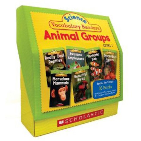Science Vocabulary Readers Set: Animal Groups