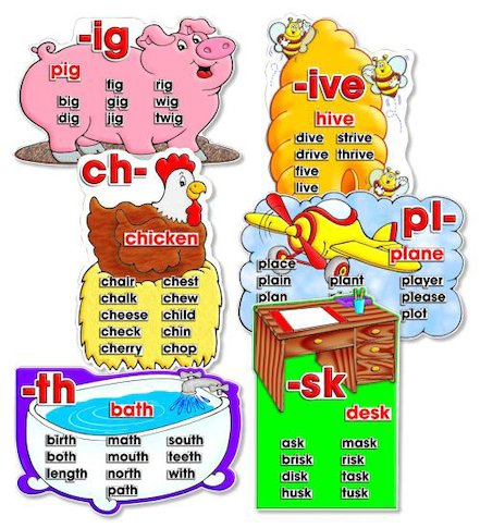 Word Bank Phonics Set