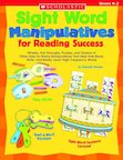 Sight Word Manipulatives for Reading Success
