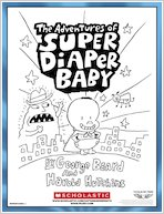 Super Diaper Baby Colouring