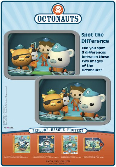 Octonauts Spot the Difference