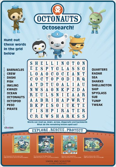 Octonauts Octosearch