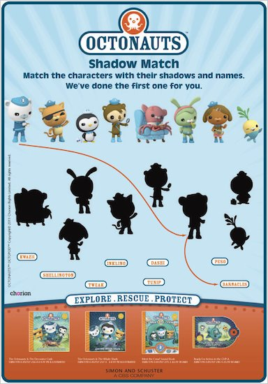 Octonauts Shadow Match