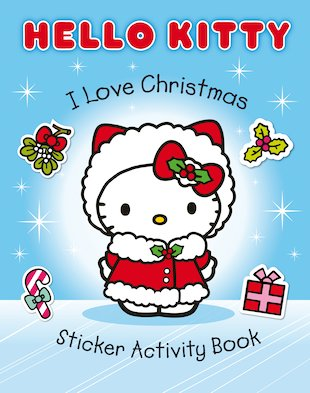 Hello Kitty: I Love Christmas Sticker Activity Book