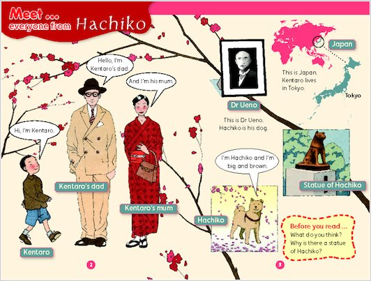 Hachiko: A Loyal Dog Sample Page