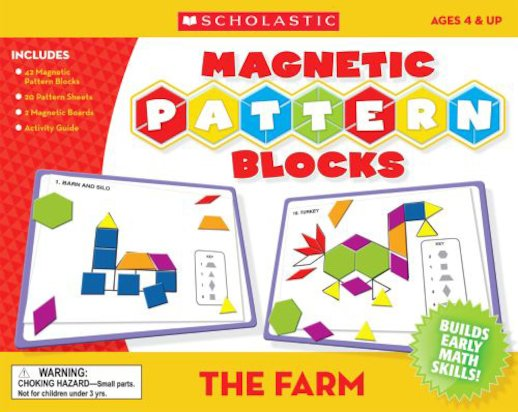 Magnetic Pattern Blocks: The Farm