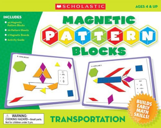 Magnetic Pattern Blocks: Transportation