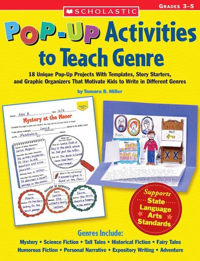 Pop-Up Activities to Teach Genre: Grades 3-5