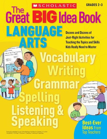 The Great Big Idea Book: Language Arts