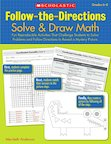 Follow-The-Directions: Solve and Draw Math (Grades 6-8)