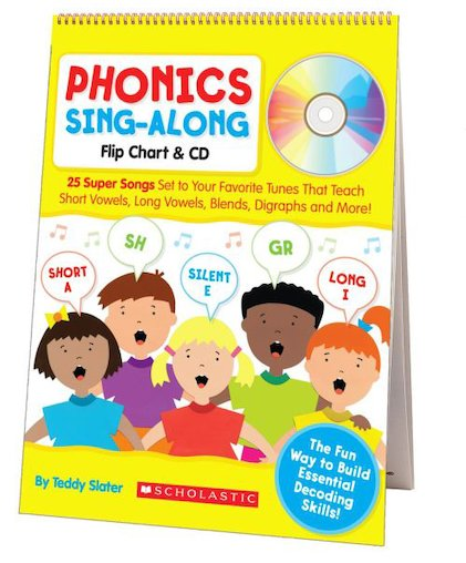 Phonics Sing-Along Flip Chart and CD