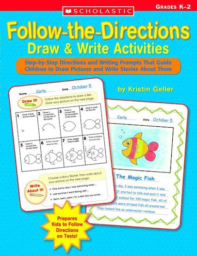 Follow-The-Directions Draw and Write Activities