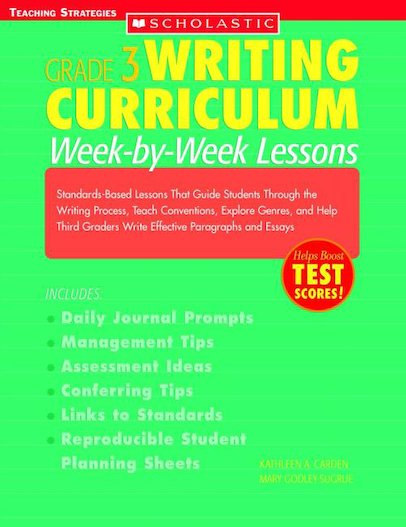 Grade 3 Writing Curriculum: Week-By-Week Lessons