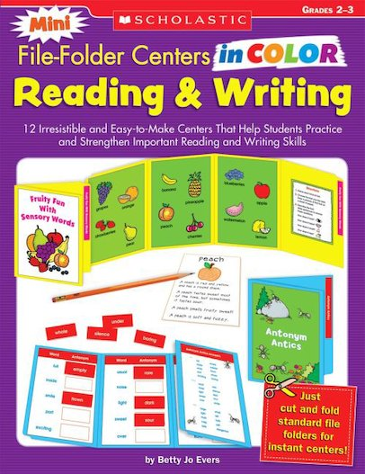 Mini File-Folder Centers in Color: Reading and Writing. Grades 2-3