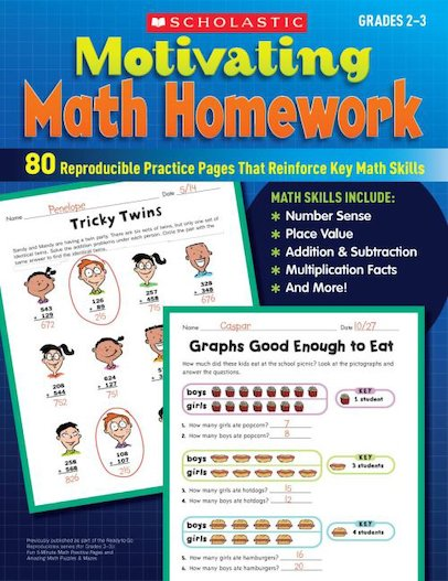 Motivating Math Homework: Grades 2-3