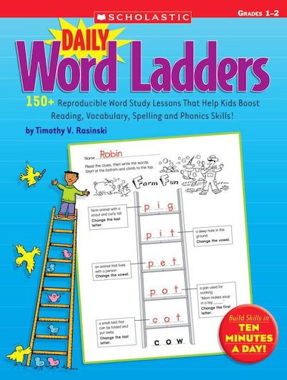 Daily Word Ladders: Grades 1-2