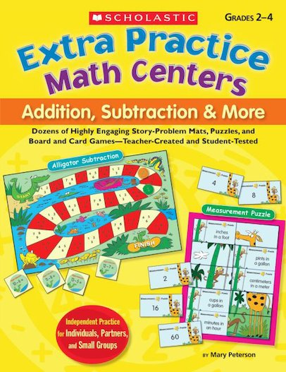 Extra Practice Math Centers: Addition, Subtraction, and More