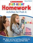 Just-Right Homework Activities For Prek-K