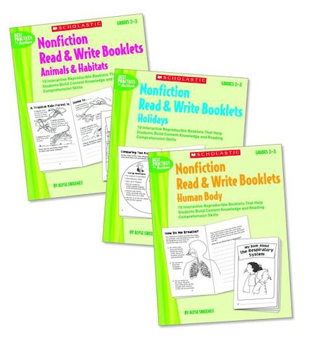 Nonfiction Read and Write Booklets Set