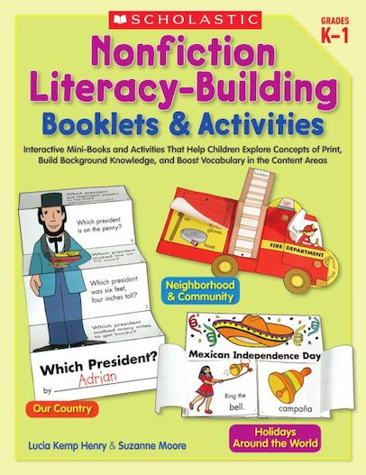 Nonfiction Literacy-Building Booklets and Activities