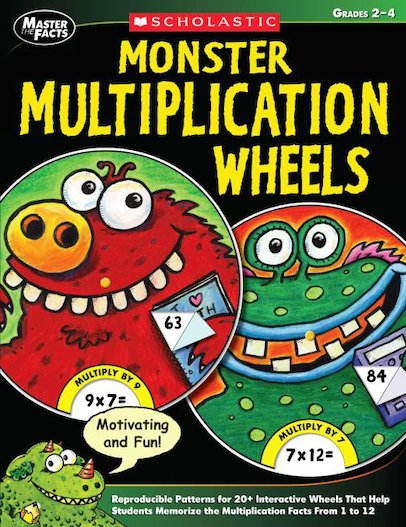 Monster Multiplication Wheels
