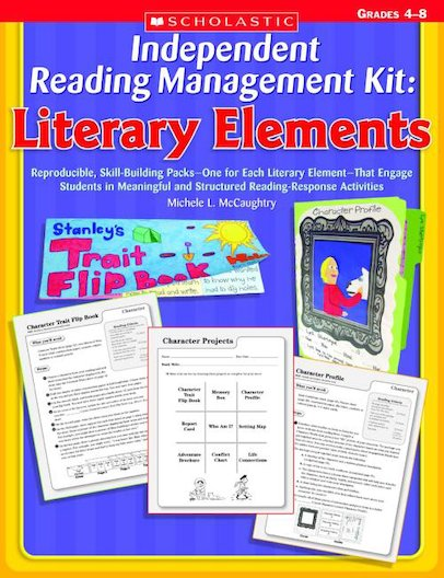 Independent Reading Management Kit: Literary Elements