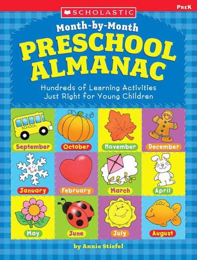 The Month-By-Month Preschool Almanac