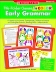 File Folder Games In Color: Early Grammar