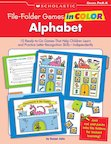 File-Folder Games In Color: Alphabet