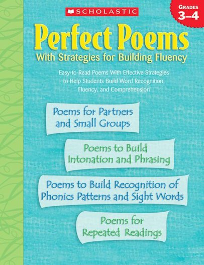 Perfect Poems With Strategies For Building Fluency: Grades 3-4