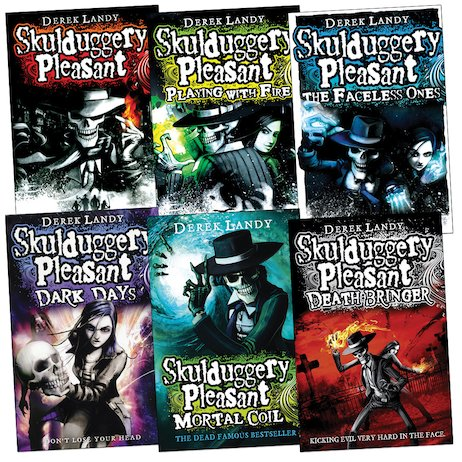 Skulduggery Pleasant Pack