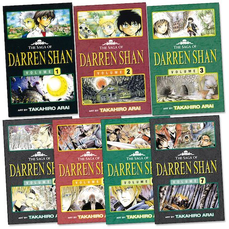 The Saga of Darren Shan Manga Pack x 7