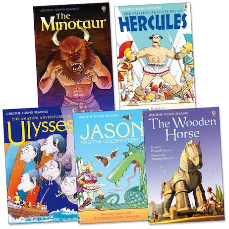 Usborne Greek Myths Pack