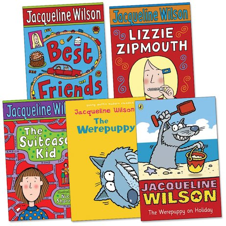 Jacqueline Wilson Pack of 5: Ages 7-9