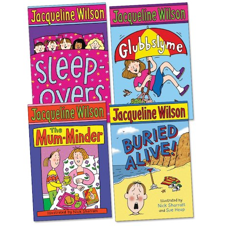Jacqueline Wilson Pack of 4: Ages 7-9