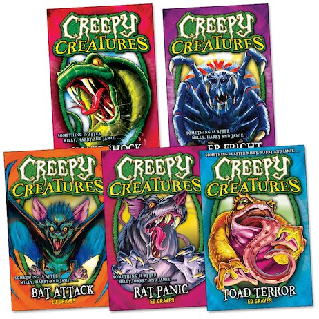 Creepy Creatures Pack